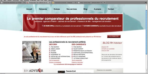 un site pour choisir le bon cabinet de recrutement emploi pro
